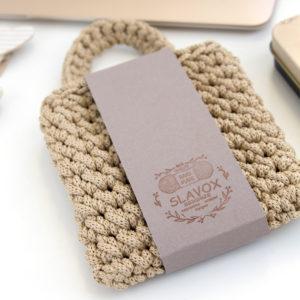 Кармашек для зарядки мобильного телефона